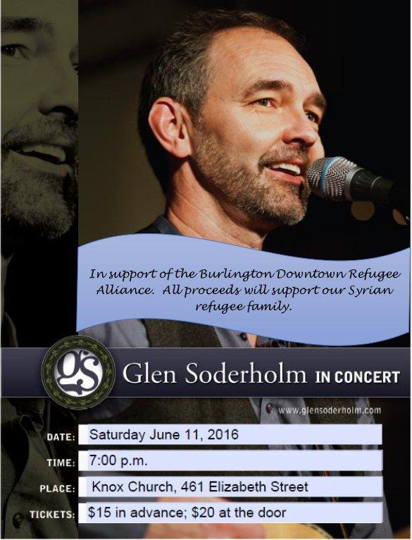 Glen Soderholm in Concert